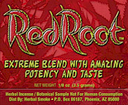 Red Root Legal Bud Smoke